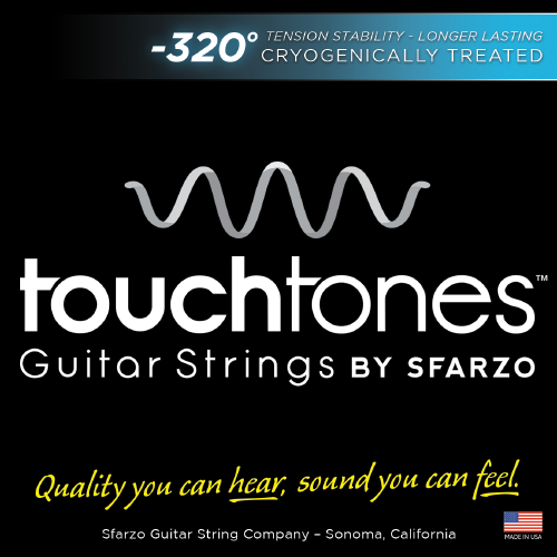 Sfarzo Touchtones Electric Guitar Strings