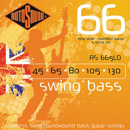 Rotosound 5-String Swing 66 Bass Guitar Strings