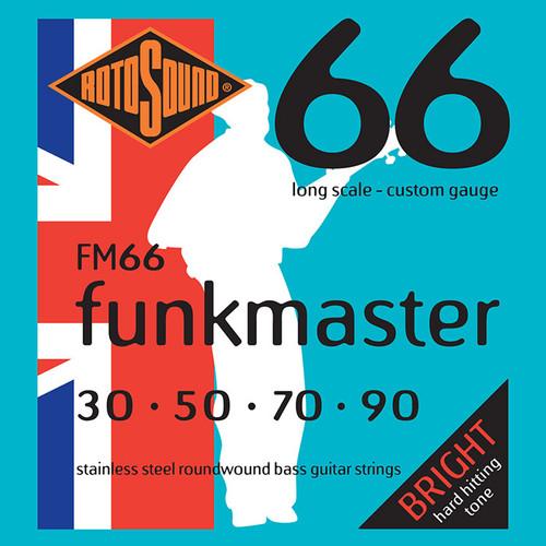 Rotosound FM66 Funkmaster Swing Bass Guitar Strings 30-90