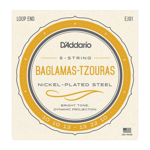 D'Addario EJ91 Baglamas-Tzouras Strings