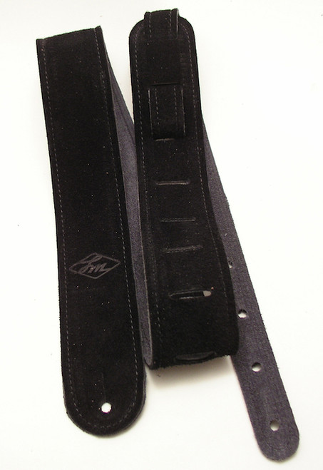 LM Double Standard Suede Leather Guitar Strap