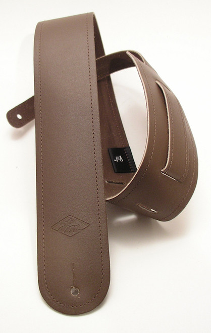 LM Double Standard Leather with detailing Guitar Strap