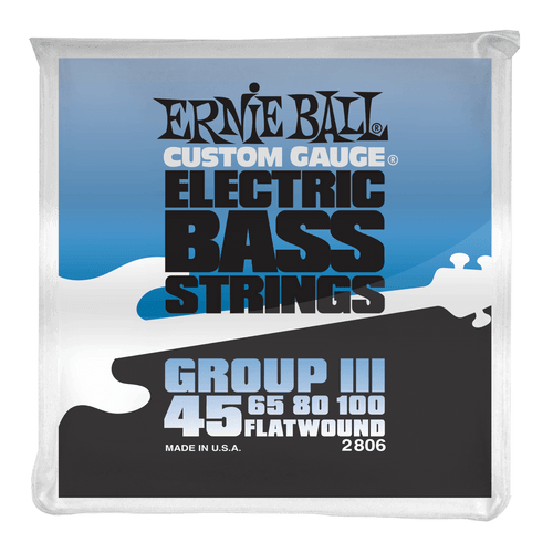 Ernie Ball Flatwound Electric Bass Guitar Strings