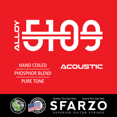 Sfarzo Alloy 5109 Acoustic Guitar Strings