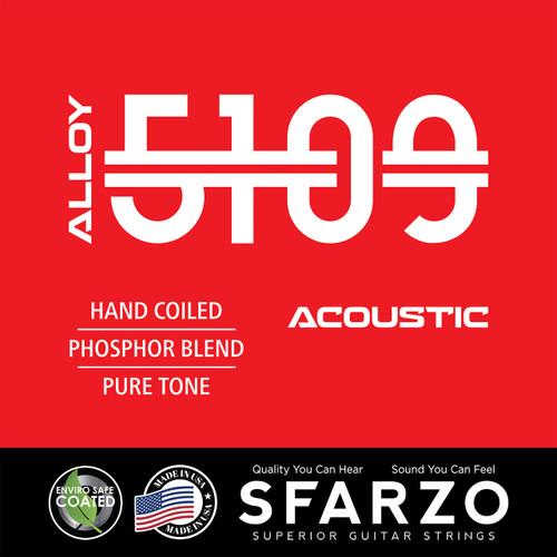Sfarzo Alloy 5109 Acoustic Guitar Strings