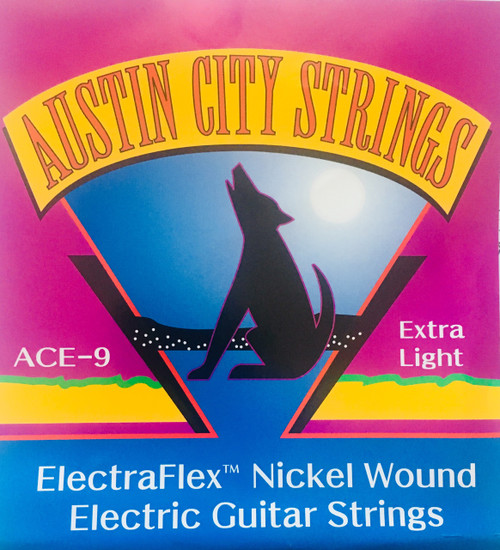 Austic City Strings ElectraFlex Nickel Wound Guitar Strings