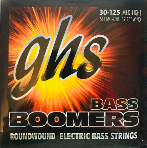 GHS Boomers Bass Guitar Strings - 6-String set