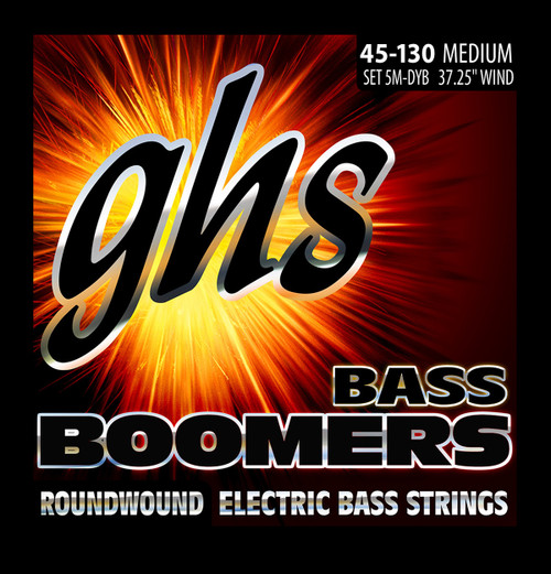 GHS Boomers Bass Guitar Strings - 5-String set