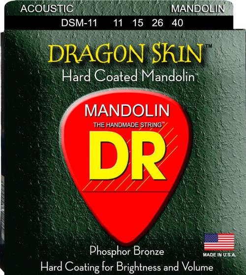 DR Dragon Skin Coated Mandolin Strings
