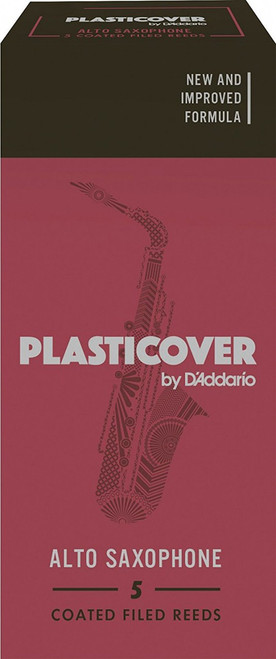 Plasticover by D'Addario Alto Saxophone Reeds - 5-pack