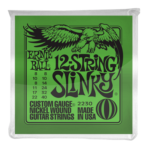 Ernie Ball Slinky 12-String Nickel Wound Electric Guitar Strings