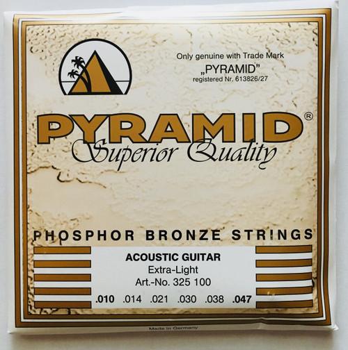 Pyramid Phosphor Bronze Acoustic Guitar Strings