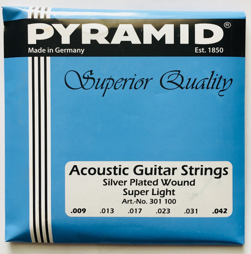 Pyramid Silver Plated Wound Acoustic Guitar Strings