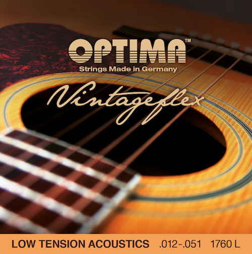 Optima VintageFlex Low Tension Acoustic Guitar Strings