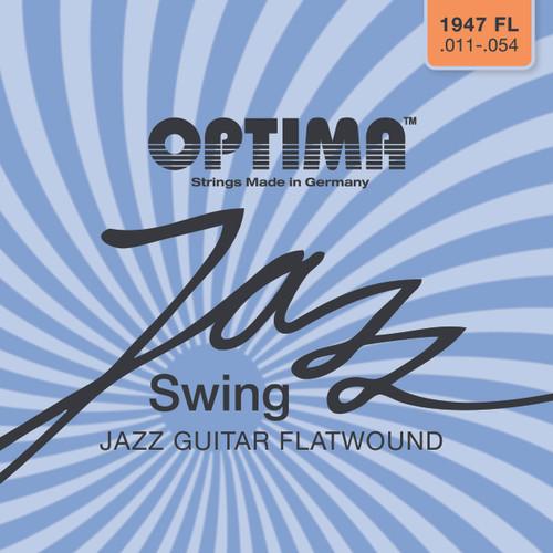 Optima Jazz Swing Flatwound Electric Guitar Strings