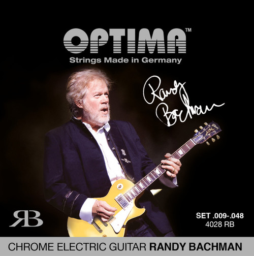Optima Randy Bachman Chrome Electric Guitar Strings