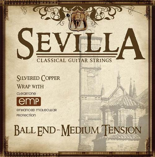 Sevilla Classical Guitar Strings - med tension