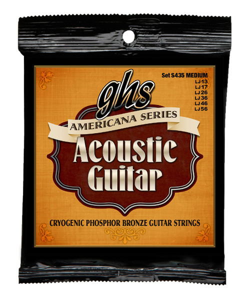GHS Americana Cryogenic Phosphor Bronze Acoustic Strings
