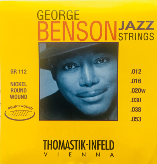 Thomastik-Infeld George Benson Nickel Round Wound Jazz Guitar Strings 12-53