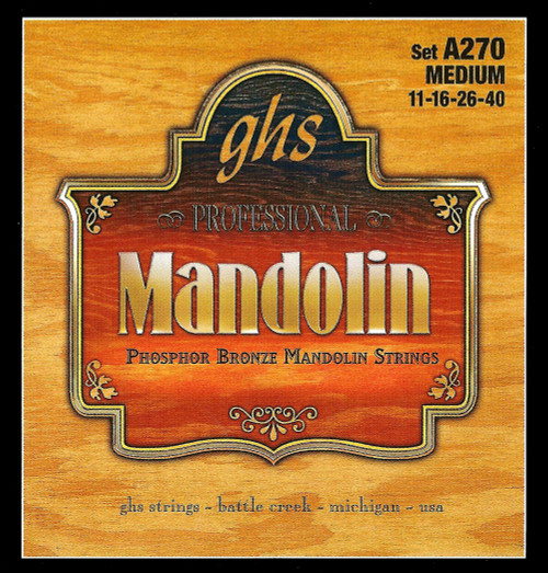 GHS Phosphor Bronze Mandolin Strings