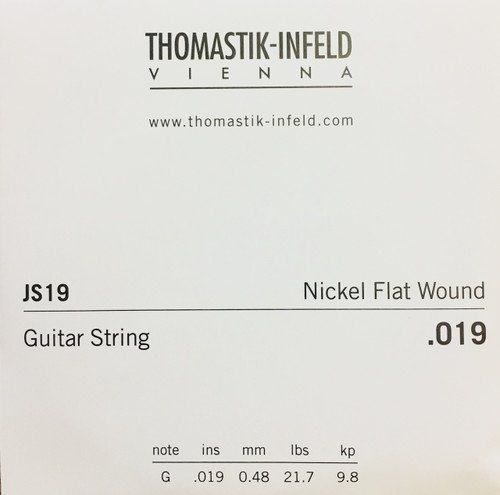 Thomastik-Infeld Nickel Flat Wound Single Strings
