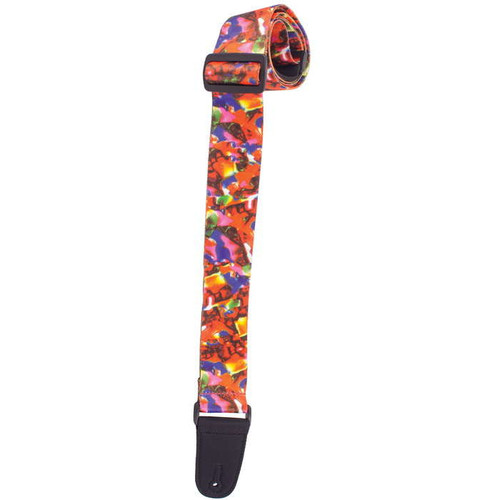 Henry Heller Sublimination Guitar Strap - Hard Candy Crush