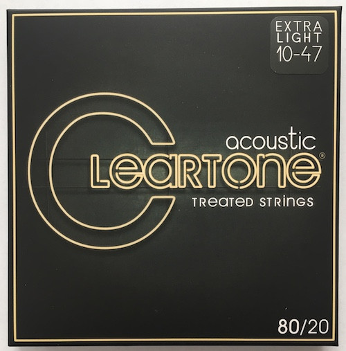 Cleartone 80/20 Bronze Acoustic Guitar Strings