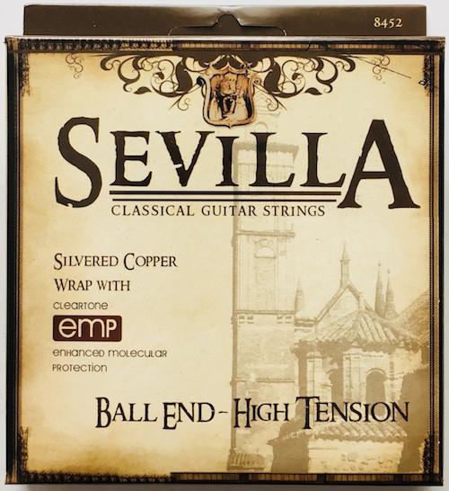 Sevilla Classical Guitar Strings - high tension
