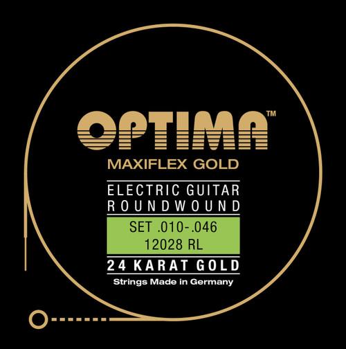 Optima 24K Gold Maxiflex Electric Guitar Strings