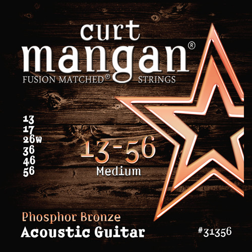 Curt Mangan Phosphor Bronze Acoustic Guitar Strings (choose gauges)