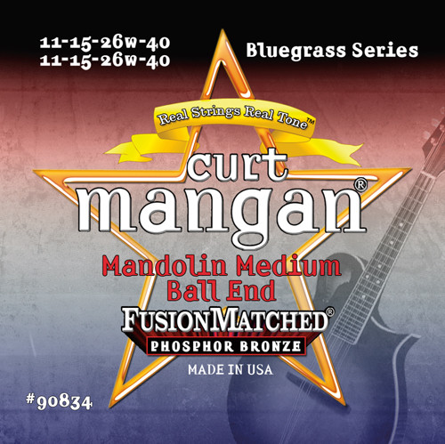 Curt Mangan Phosphor Bronze Mandolin Strings