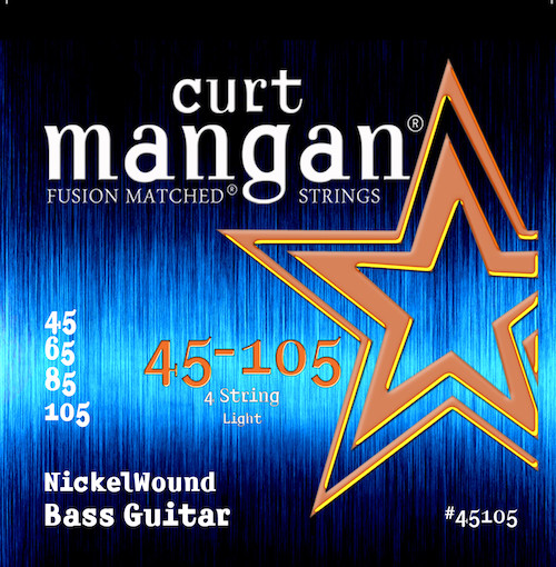 Curt Mangan Nickel Wound Bass Strings (choose gauges)