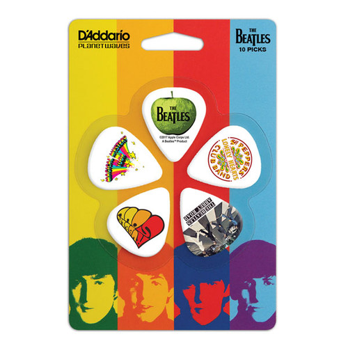 The Beatles Classic Albums Guitar Picks - 10-pack