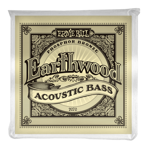 Ernie Ball Earthwood Phosphor Bronze Acoustic Bass Strings 45-95