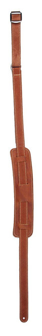 LM ES-1 Vintage Ball Glove Guitar Strap - Brown