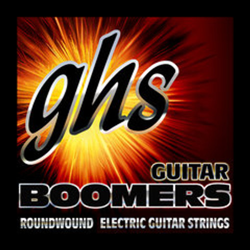 GHS Boomers Electric Guitar Wound Single Strings