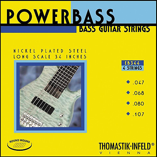 Thomastik Infeld EB344 PowerBass Bass Strings 47-107