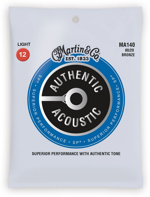 Martin Authentic Acoustic 80/20 Bronze Guitar Strings