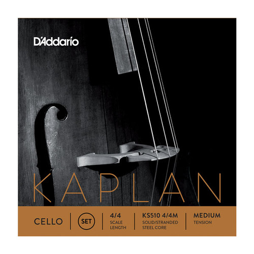 D'Addario Kaplan Cello String Set, 4/4 Scale