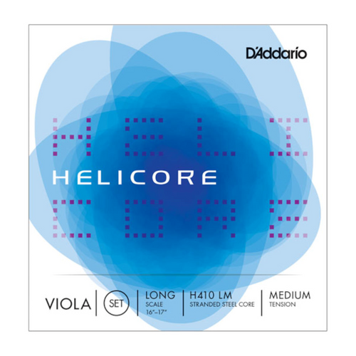 D'Addario Helicore Viola Strings - Medium Tension