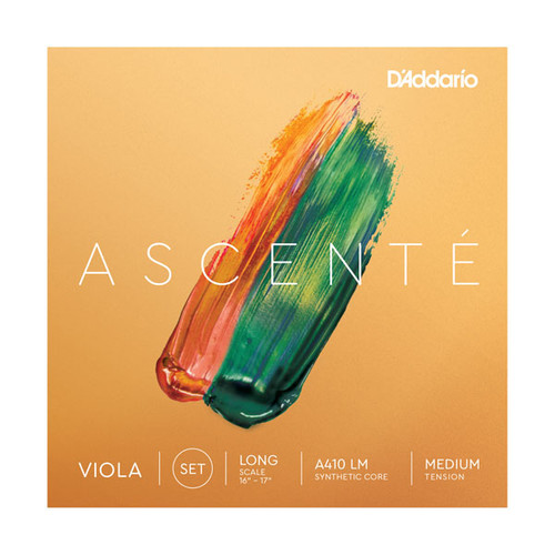 D'Addario Ascente Viola Strings - Medium Tension