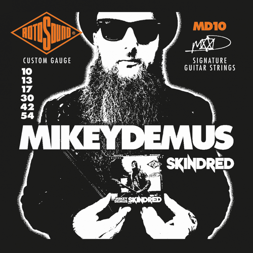 Rotosound Mikey Demus Signature Electric Guitar Strings 10-54