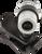 Fender® Clip-On Bullet Tuner - Silver