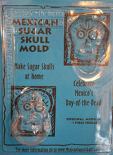 Mexico and Central America Sugar Skull Medium Mexican Mold