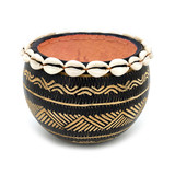 Gourd Calabash with Cowrie Shell from Kenya