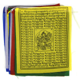 India and Asia Wind Horse Lungta Prayer Flags - Large