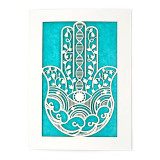 United States Laser Cut Hamsa Notecards - Good Luck and Protection