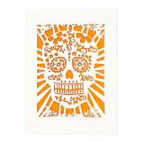 United States Laser Cut Sugar Skull Notecards - Dias de los Muertos