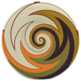 Africa Zulu Telephone Wire Basket - 9.25 Shallow Plate/Bowl #3