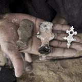 Africa Tchimoumenene Cross Necklace